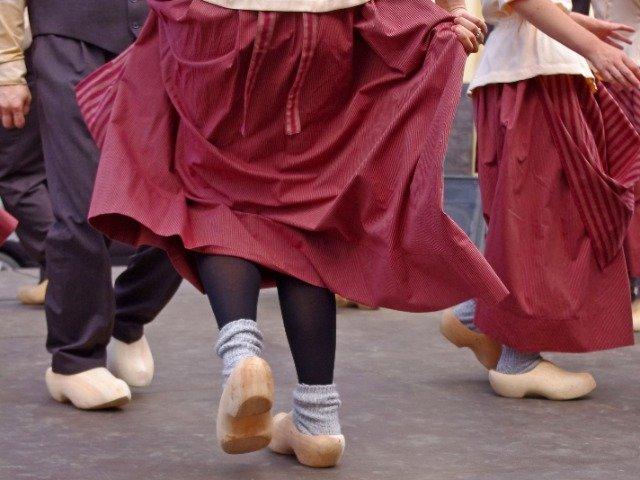 Nederland - Traditionele boerendans