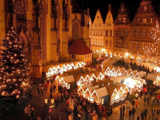 Duitsland - Kerstmarkt in Münster