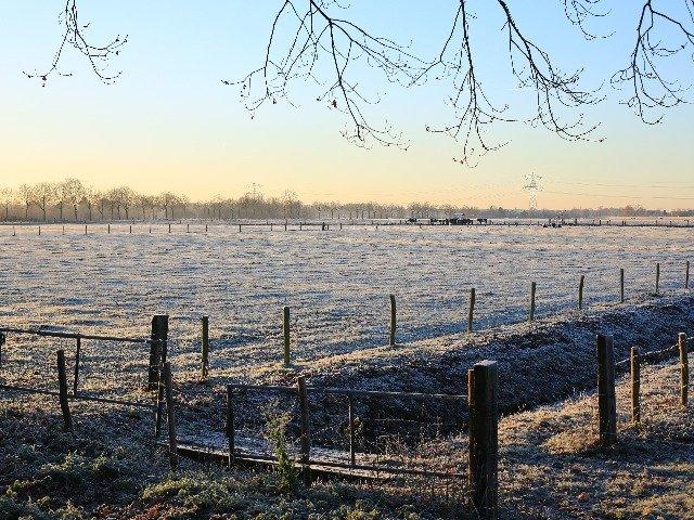 Nederland - Limburg's landschap in de winter