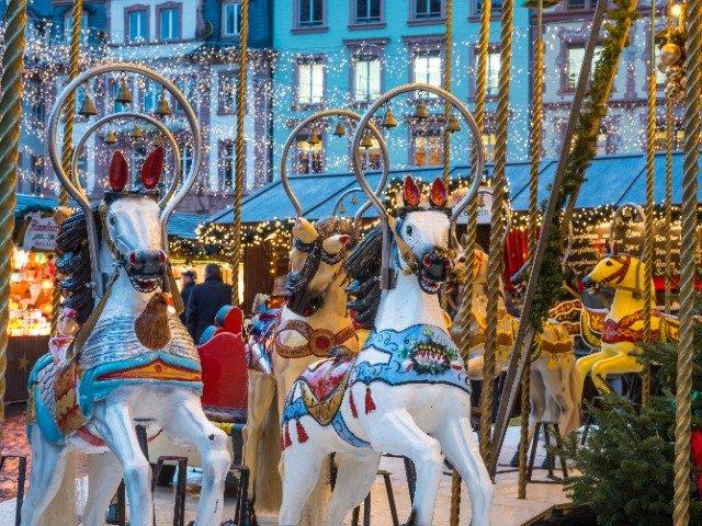 Duitsland - Kerstmarkt in Mainz