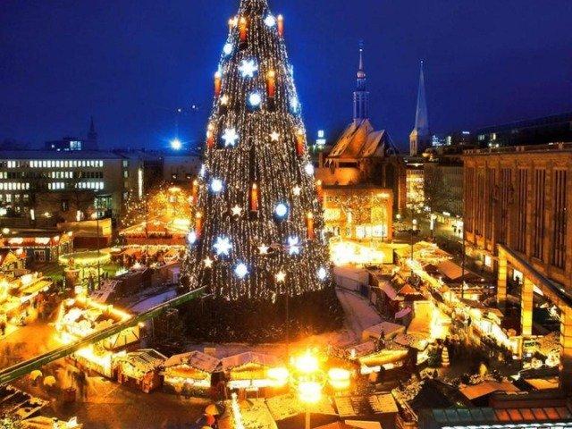 Duitsland - Kerstmarkt in Dortmund