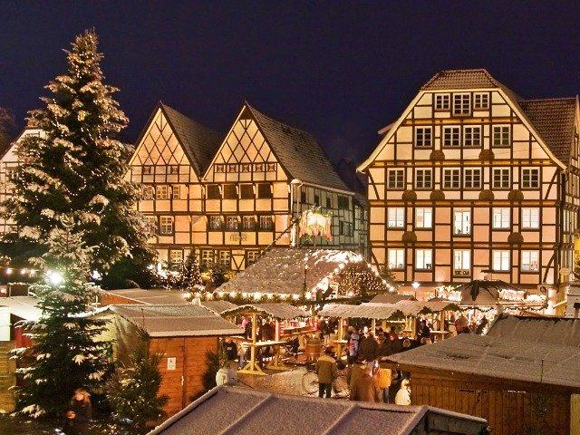 Duitsland - Soest, kerstmarkt