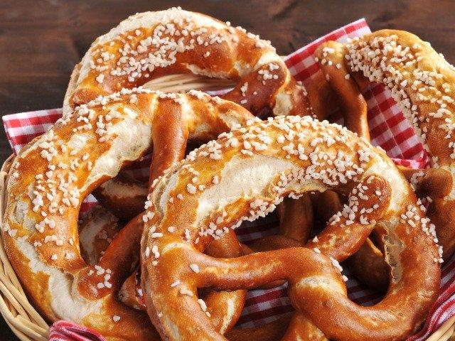 Duitse pretzels