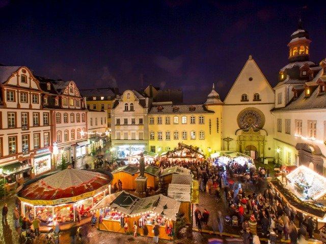 Duitsland - Kerstmarkt in Koblenz