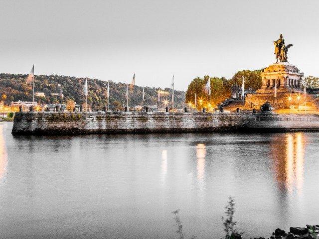 Duitsland - Koblenz, Deutsches Eck