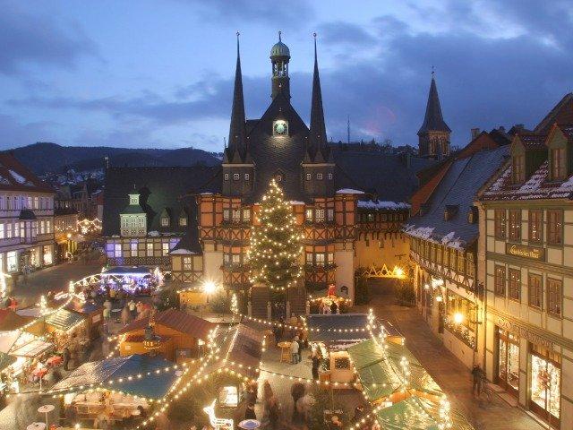 Duitsland - Wernigerode kerstmarkt