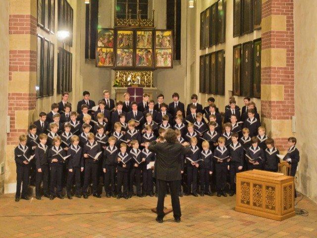 Duitsland - Concert in de Thomaskirche in Leipzig