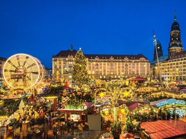 Duitsland - Kerstmarkt in Dresden