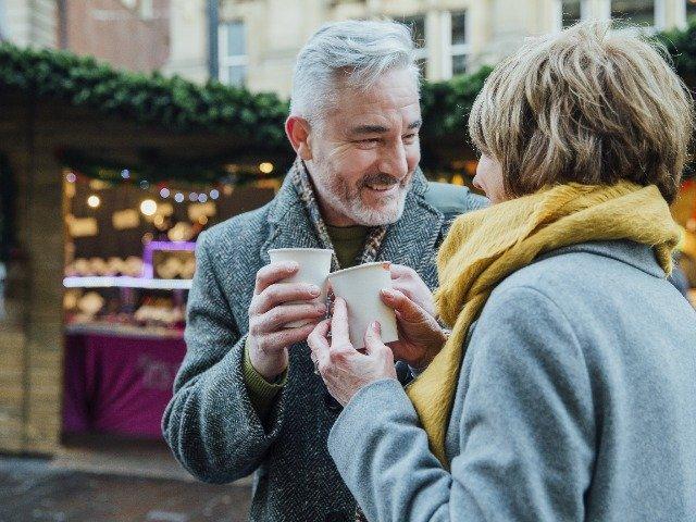Duitsland - Warme drankjes op de kerstmarkt