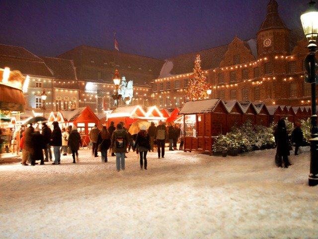 Duitsland - Kerstmarkt in Düsseldorf