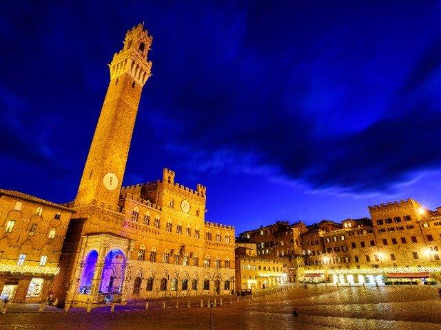 Italië - Siena, Piazza del Campo