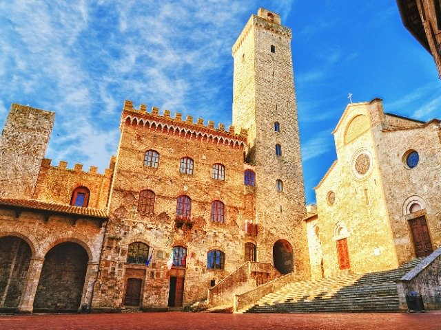 Italië - San Gimignano