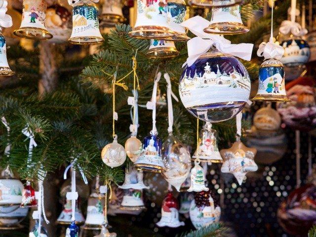 Italiaanse kerstmarkt souvenirs