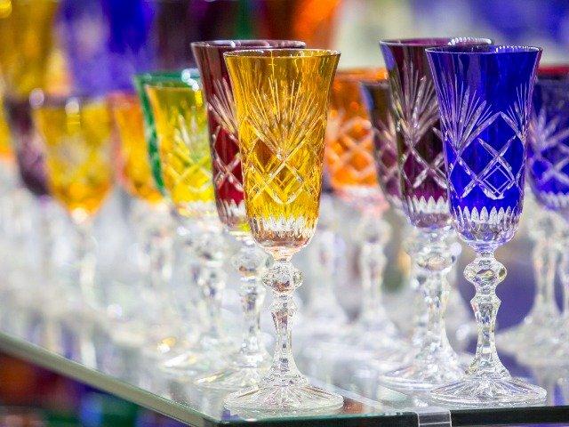 Tsjechië - Gekleurde glazen