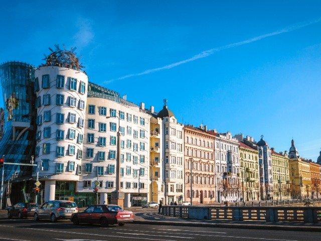 Tsjechië - The Dancing House in Praag
