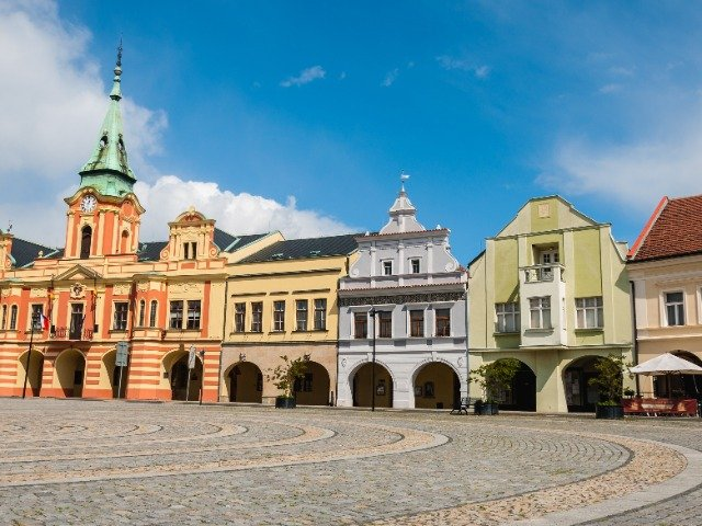Tsjechië - Het centrum van Melnik