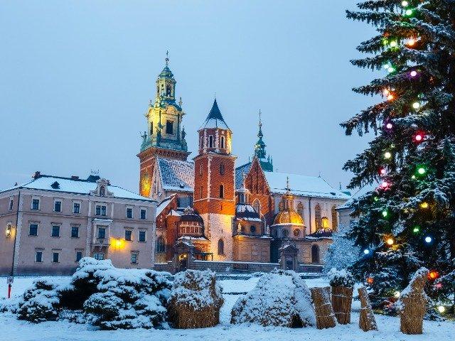 Polen - Wawel kasteel