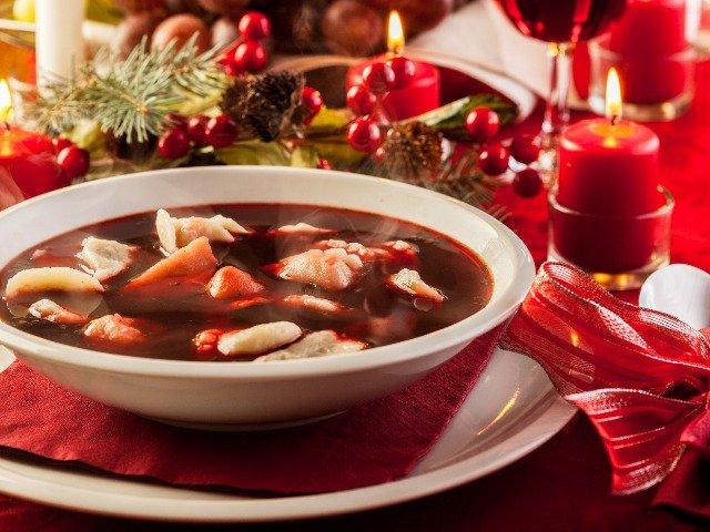 Polen - Borscht, rode bietensoep
