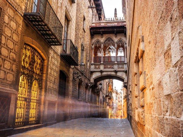 Spanje - Barrio Gótico
