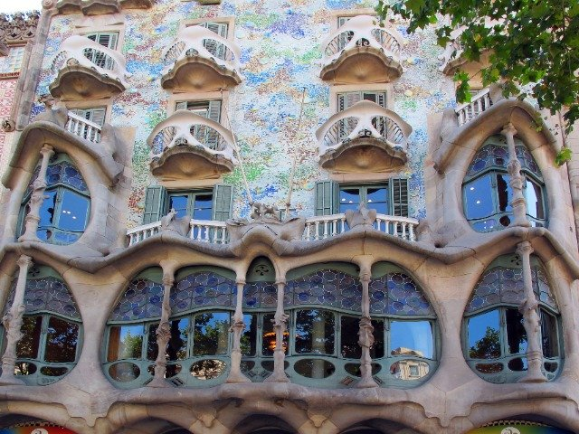 Spanje - Barcelona, Casa Battlo