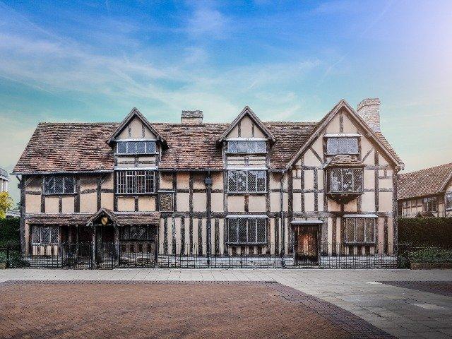 Engeland - Stratford-upon-Avon, de geboorteplaats van William Shakespeare