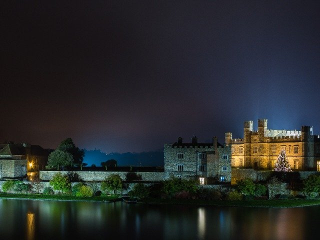Groot-Brittannië - Kent - Leeds Castle by night