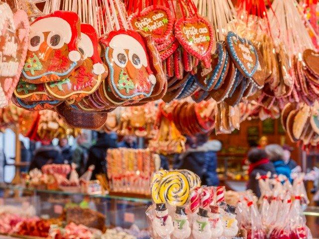 Snoepgoed op de kerstmarkt