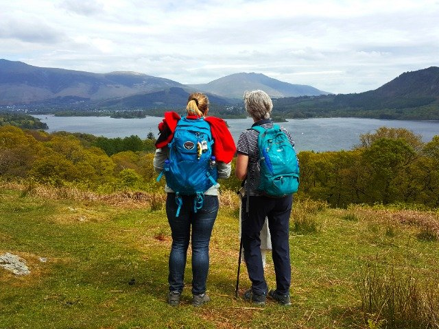 Engeland - Wandelaars in het Lake District