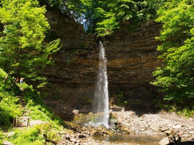 Engeland - Hardraw Force waterval