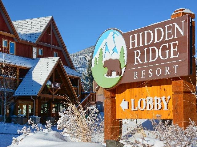 Banff - Hidden Ridge Resort**** - aanzicht