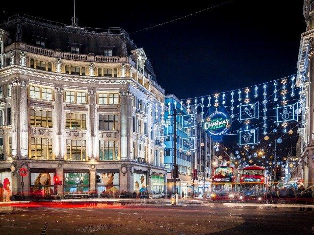 Groot-Brittannië - Londen, Oxford street