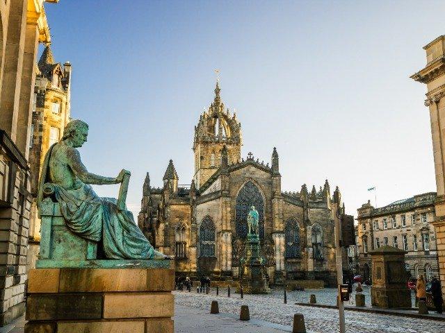 Schotland - Royal Mile, Edinburgh