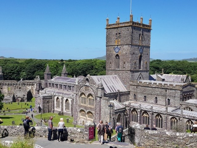 Groot Brittannië - Wales - St. Davids Cathedral