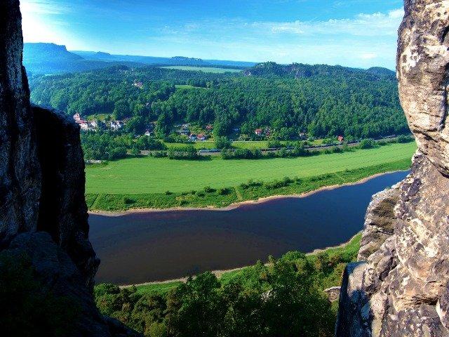 Duitsland - Rivier de Elbe