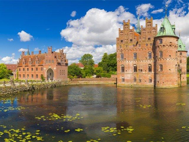 Denemarken - Slot Egeskov