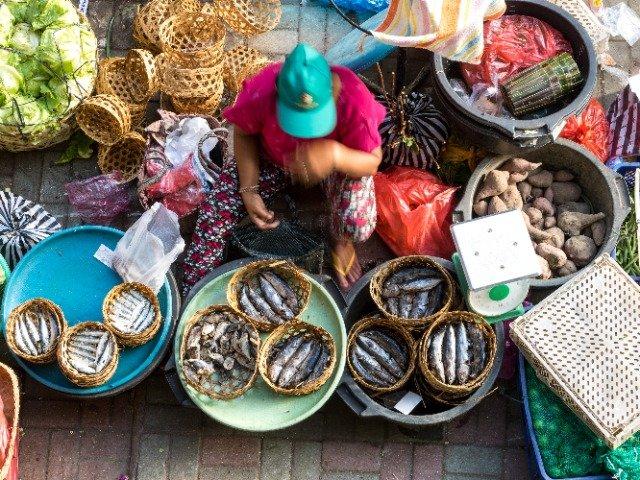 Bali - lokale markt