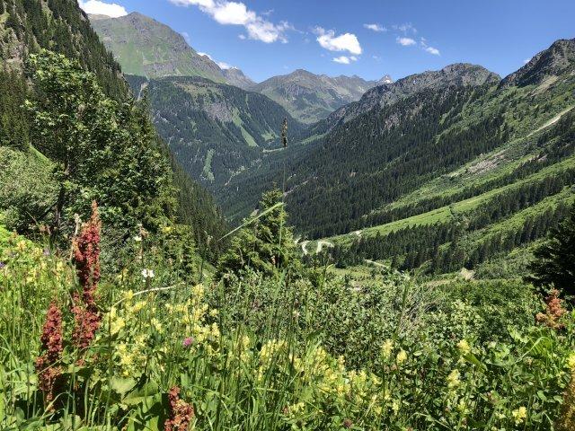 Oostenrijk - Nauders - uitzicht