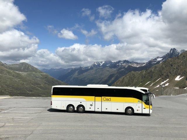 Oostenrijk - Nauders - Bus onderweg