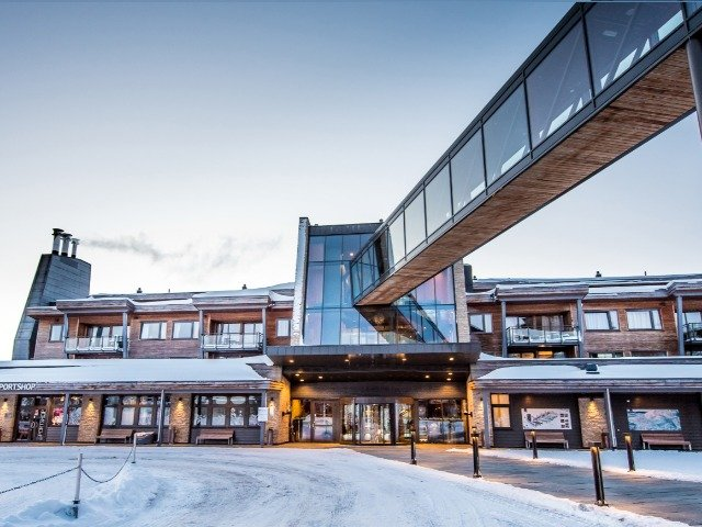 Trysil - Radisson Blu Mountain - exterieur sportshop