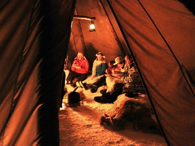 Winterexperience Beitostølen - Lavvo diner