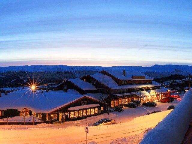 Noorwegen - Bergo Hotel - aanzicht