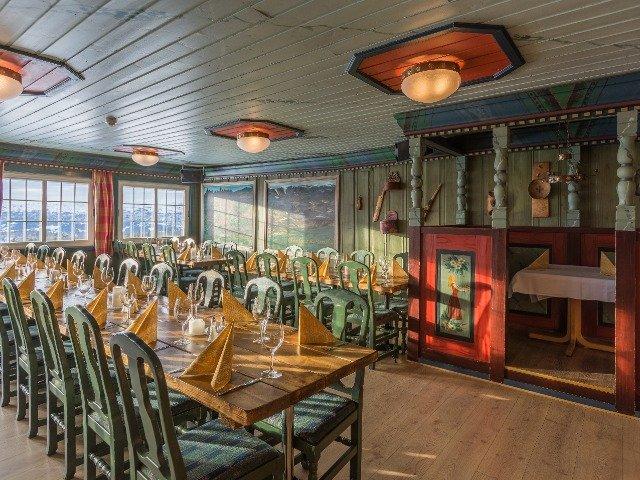 Noorwegen - Bergo Hotel - restaurant