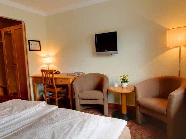 Noorwegen - Bergo Hotel - kamer