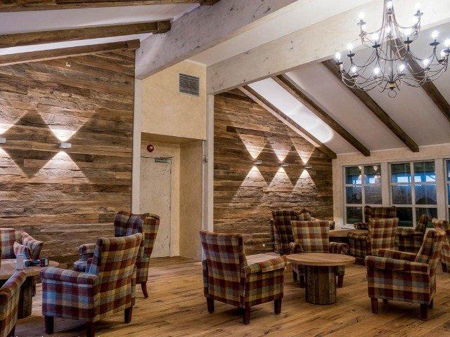 Noorwegen - Bergo Hotel - lounge