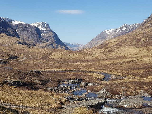 Schotland - Dal van Glencoe
