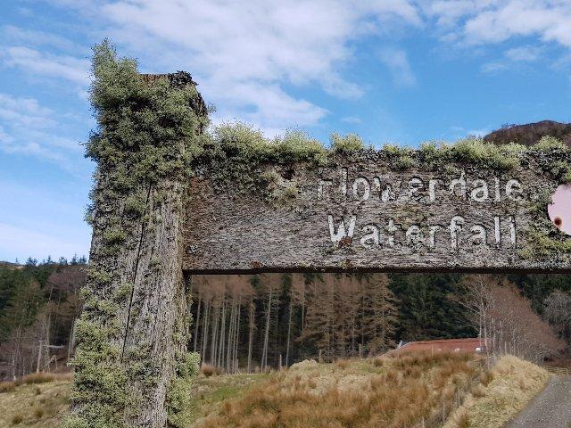 Schotland - Gairloch - Flowerdale Walk
