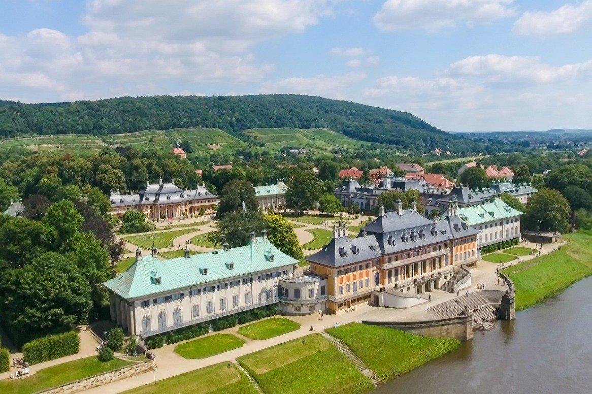 Duitsland - de Elbe - Pillnitz Castle