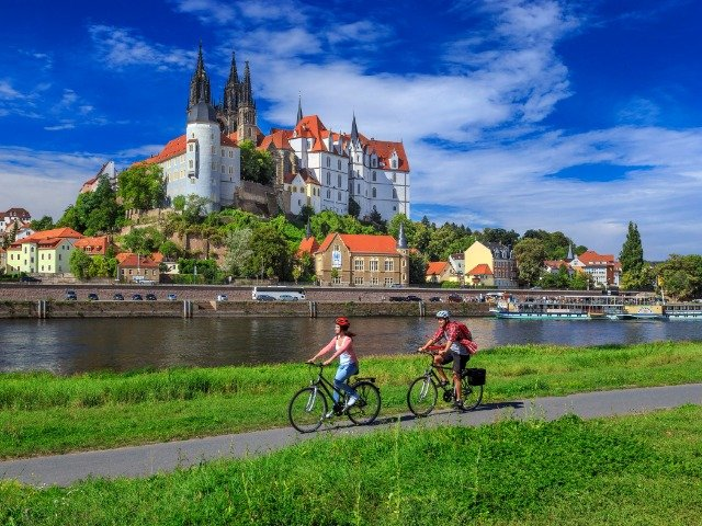 Duitsland - Meissen - fietspad