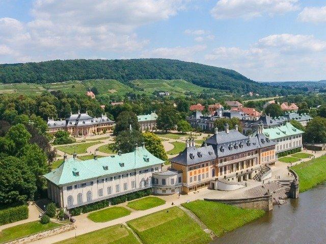 Duitsland - de Elbe - kasteel Pillnitz