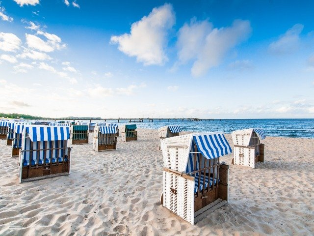 Duitsland - de Oostzee - strand